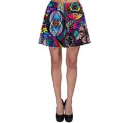 Pleiades   Skater Skirt